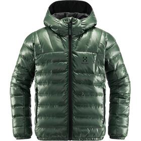 Haglöfs Bivvy Reversible Hood Youth, fjell green/true black